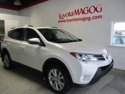 Toyota RAV4 Limited, garantie jusqu en 2019  2015