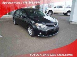 Toyota Corolla S  2014