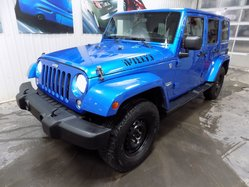 Jeep Wrangler Unlimited SAHARA (8 PNEUS + 8 ROUES)  2014