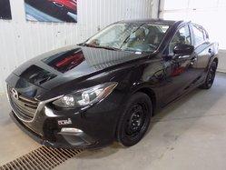 Mazda Mazda3 GS-SKY SIÈGES CHAUFFANTS + TRANSMISSION MANUELLE  2014
