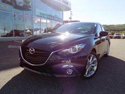 2015 Mazda Mazda3 GT MANUEL + TOIT OUVRANT + GPS + MAGS 18PO