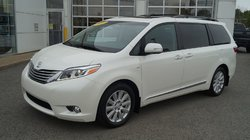 Toyota Sienna LIMITED AWD  TOIT PANO, MAGS, DVD, GPS  2017
