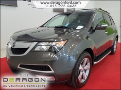 2012 Acura MDX SH-AWD TECH PACK NAVIGATION DVD 7 PLACES CUIR