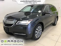 2016 Acura MDX SH-AWD 7 PASS TECH PACK DEMARREUR NAV CAMERA TOIT