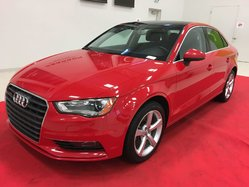 Audi A3 KOMFORT + QUATTRO + TOIT PANO + ROUES 17