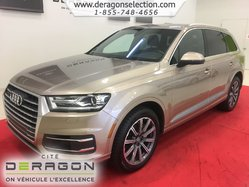 2018 Audi Q7 PROGRESSIV + 7 PLACES + NAV + CAMERA