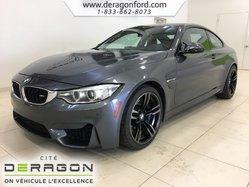 BMW M4 MANUELLE TOIT CARBONE PNEUS NEUFS CUIR ROUGE NAV  2015