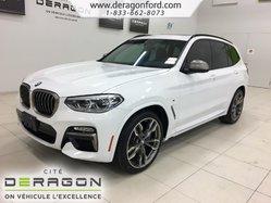 2018 BMW X3 M40i 355HP ROUES 21