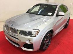 BMW X4 XDrive35i + M PACK + TOIT + NAV + CAMÉRA  2016