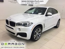 BMW X6 XDrive35i M SPORT PACK CUIR ROUGE NAV TOIT CAMERA  2017