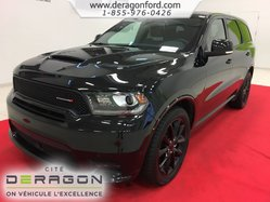 Dodge Durango R/T AWD CUIR ROUGE TOIT NAV TECH PACK BLACKTOP 20P  2018