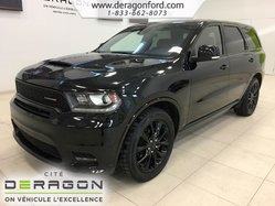 2018 Dodge Durango R/T AWD DVD CUIR ROUGE TOIT NAV TECH PACK BLACKTOP