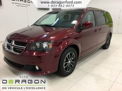Dodge Grand Caravan GT 7 PASSAGERS NAV CAMERA CUIR DVD  2018