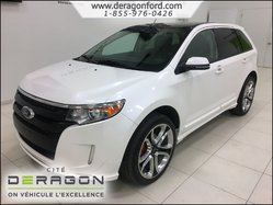 Ford Edge SPORT + TOIT + CUIR + GPS + VISION PACKAGE  2014