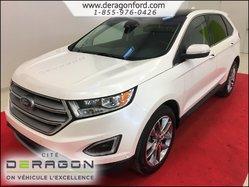 Ford Edge TITANIUM AWD TOIT PANORAMIQUE + NAVI + JANTES 20PO  2015