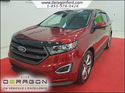 2015 Ford Edge SPORT-AWD-NAV-TOIT PANO-MAGS 20P-BLIND SPOT