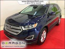 Ford Edge SEL AWD NAV TOIT CUIR BAS KM  2016