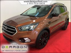 2017 Ford Escape SE AWD 2.0 ECOBOOST MAGS NOIR 19P NAVIGATION