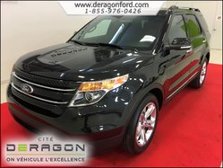2014 Ford Explorer LIMITED AWD CUIR NAVIGATION 7 PASSAGERS