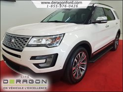 2017 Ford Explorer PLATINUM AWD NAVIGATION 3.5 ECOBOOST TOIT PANO