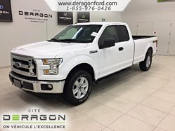 Ford F-150 XLT + 5.0L + SUPERCAB + 8 PIEDS + IMPECCABLE  2016