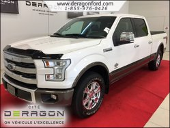 Ford F-150 KING RANCH ECOBOOST 3.5L TOIT PANO NAV CAMERA SONY  2016