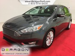 2016 Ford Focus TITANIUM CUIR TOIT OUVRANT CAMERA SONY 5PORTES