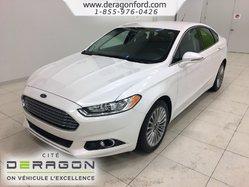 Ford Fusion TITANIUM + AWD + CUIR + GPS + CAMERA  2015