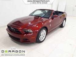 Ford Mustang V6 + AUTOMATIQUE + CONVERTIBLE + BAS KILOMÉTRAGE  2014