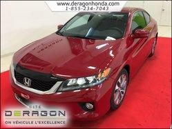 2014 Honda Accord Coupe EX 2.4L MANUELLE + AIR CLIM + BLUETOOTH