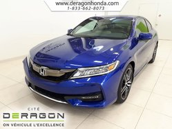 2016 Honda Accord Coupe Touring+NAVIGATION+CUIR+DEMARREUR+HONDA SENSING