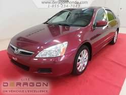 2006 Honda Accord Sdn EX V6 + BAS KILOMETRAGE + BIEN ENTRETENU