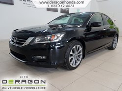 Honda Accord Sedan Sport+DEMARREUR+AIR CLIMATISE+CAMERA DE RECUL+  2014