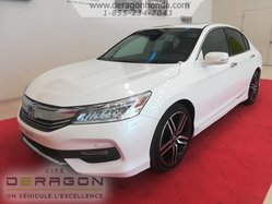 Honda Accord Sedan TOURING + GARANTIE PROLONGEE + AUCUN ACCIDENT  2016