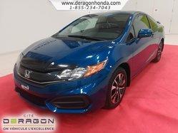 Honda Civic Coupe EX SEULEMENT UN PROPRIETAIRE + AUCUN ACCIDENT  2014