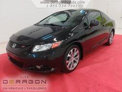 2012 Honda Civic Cpe SI +BAS KILOMETRAGE + AUCUN ACCIDENT