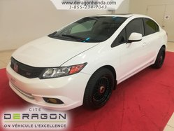 2012 Honda Civic Sdn SI + ROUES EN ALLIAGE + BLUETOOTH