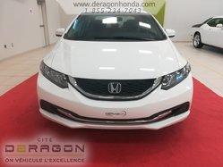 2014 Honda Civic Sedan LX + SEULEMENT 61 248 KM + AUCUN ACCIDENT