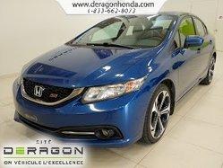 Honda Civic Sedan SI+TOIT+MAG+SIEGES CHAUFFANTS+VITRES TEINTEES  2014