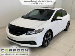 Honda Civic Sedan Si+TOIT OUVRANT+ VITRES TEINTEES+ BLUETOOTH  2014