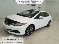 Honda Civic Sedan EX+REGULATEUR DE VITESSE+ TOIT OUVRANT+ LECTEUR CD  2015