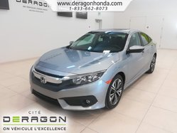 Honda Civic Sedan EX-T+GARANTE+TURBO+DEMARREUR+HONDA SENSING  2016
