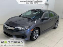 Honda Civic Sedan LX+APPLE CARPLAY+ANDROID AUTO+CAMERA+AIR CLIMATISE  2016