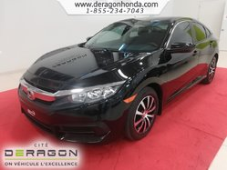 Honda Civic Sedan LX + UN SEUL PROPRIO + AUCUN ACCIDENT  2017