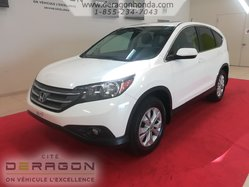 2012 Honda CR-V EX + UN PROPRIETAIRE + AUCUN ACCIDENT RAPPORTE