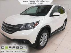 Honda CR-V EX+TOIT OUVRANT+MAGS+SIEGES CHAUFFANTS+BAS KILOS.  2014