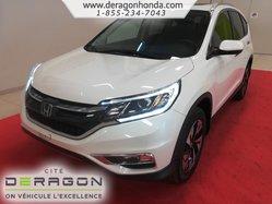 Honda CR-V TOURING + AWD + UN PROPRIETAIRE  2015
