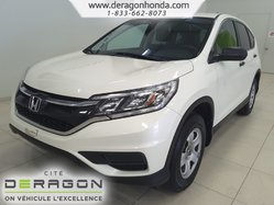 Honda CR-V LX+DEMARREUR+BAS KILOS.+AIR CLIMATISE+CAMERA  2015