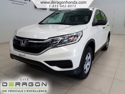 Honda CR-V LX+GARANTIE+SIEGES CHAUFFANTS+CAMERA DE RECUL  2016