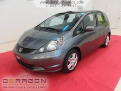 2014 Honda Fit LX + AUCUN ACCIDENT + GARANTIE PROLONGEE